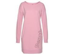 Sweatkleid rosa / schwarz