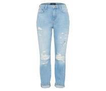 Loosefit Jeans 'pcboy IVY B192' blue denim