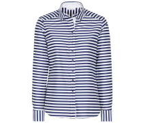 Bluse Modern Classic marine / weiß