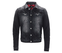 Jeansjacke 'Timmy' black denim