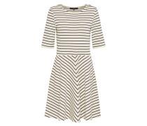 Kleid 'mula' schwarz / weiß