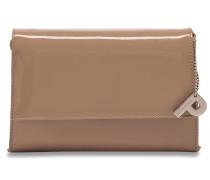 Auguri Damentasche Leder 19 cm hellbeige