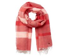 Schal rosa / rot