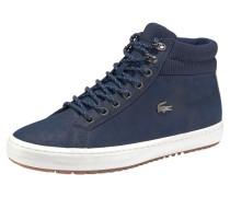 Sneaker 'straightset' dunkelblau / braun