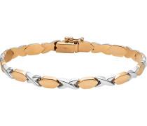 Armband gold / weiß