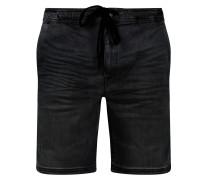Jeansshorts 'Bartels' schwarz
