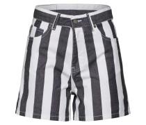 Shorts 'Jenn' schwarz / weiß