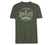 T-Shirt 'sunset Logo' khaki