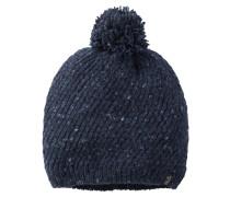 Strickmütze 'merino Cap' nachtblau