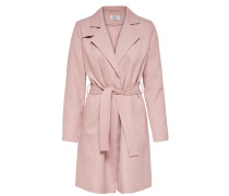 Klassischer Trenchcoat rosa