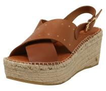 Sandale 'Naya 25' beige / cognac