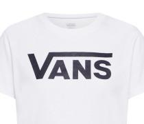 T-Shirt 'Flying' schwarz / weiß