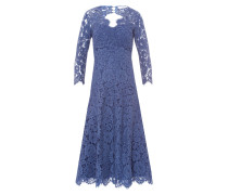 Kleid 'Lace' royalblau