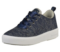 Sneaker blau / silber