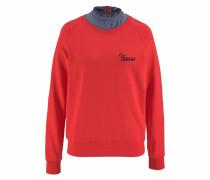 Sweatshirt orangerot