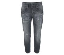 Ankle-Jeans 'shyra' dunkelgrau