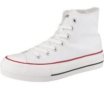Sneakers rot / schwarz / weiß