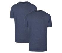 Doppelpack T-Shirt nachtblau