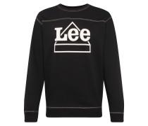 Sweatshirt 'Graphic Sws' schwarz / weiß