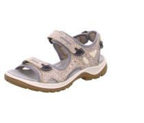 Sandalen beige / flieder