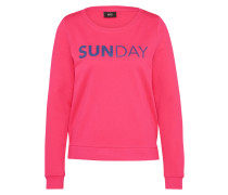 Sweatshirt 'unbrushed Box' pink