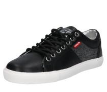 Sneaker 'Woods W' schwarz
