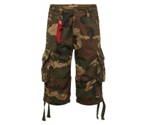 Shorts 'Jet' oliv / khaki