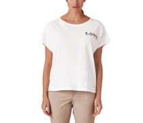 Slub Yarn-Shirt weiß