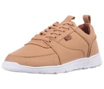 Schuhe hellbraun / weiß