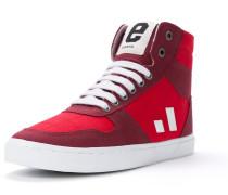 Sneaker rot / weinrot / weiß