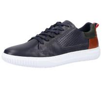 Sneaker dunkelblau / bronze / tanne