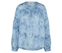 Tunika 'washed Out' blau