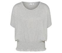 T-Shirt 'smock Waist' hellgrau