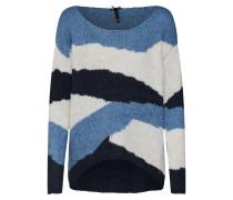 Pullover blau / mischfarben