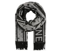 Schal grau / schwarz