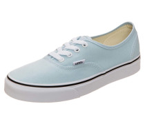 'Authentic' Sneaker blau