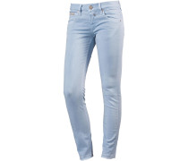 Touch Skinny Fit Jeans hellblau