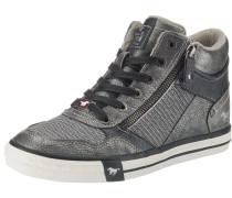 Sneakers High graphit / silbergrau