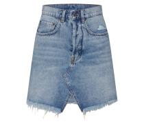 Rock 'Shrunken Skirt' blue denim