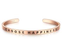 Armband mit Choose HAPPINESS-Schriftzug