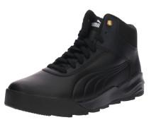 Sneaker 'Desierto' gold / schwarz / weiß