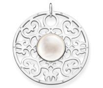 Kettenanhänger 'Weisses Ornament Pe763-029-14'