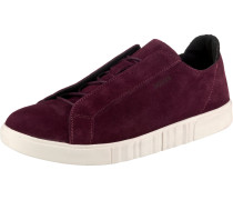 Sneakers Low 'Linda Suede' weinrot