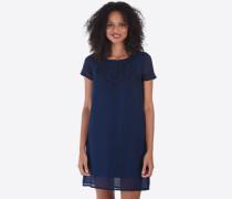 Kleid 'Veine' blau