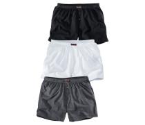 Boxer dunkelgrau / schwarz / weiß