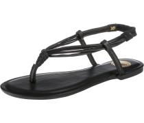 Zehtrenner-Sandale schwarz