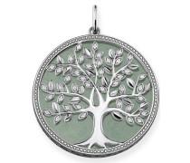 Kettenanhänger 'Grüner Tree of Love Pe760-909-6'