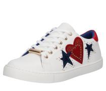 Sneaker 'swink' blau / rot / weiß