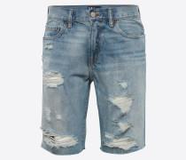 Jeans Shorts 'SH Slim 5 PKT Light Destroy'