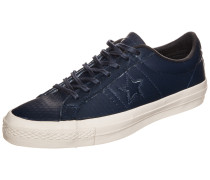 Cons One Star Leather OX Sneaker blau